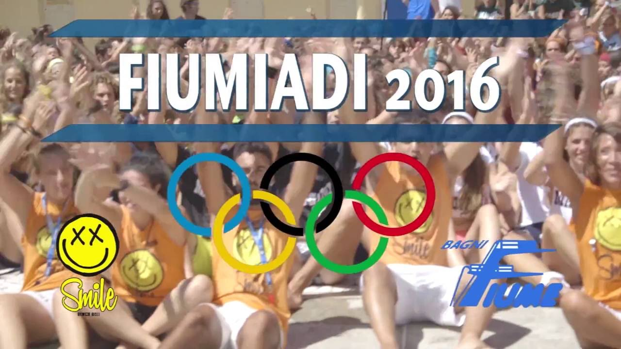 """Video shoot of the summer event """"Fiumiadi"""""""