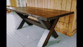 Top Of Farm Table Build
