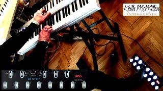 Improvisation on Organ with Keith McMillen's 12STEP foot controller