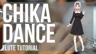 Kei Shirogane  - (Kaguya sama: Love Is War) - How to play Chika Dance (Kaguya sama) by Kei Haneoka on Flute (Tutorial)