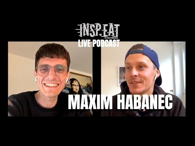 """Maxim Habanec: """"Když si nápad nedokážu představit, tak se mi nepovede."""" (INSP.EAT Live podcast)"""