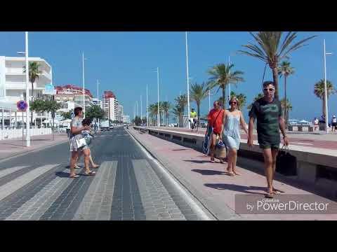 PLAYA DE GANDIA corazón del Mediterráneo VERANO 2018