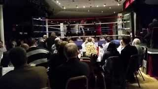 preview picture of video 'Latest Boxing Fight   Margate Winter Gardens'