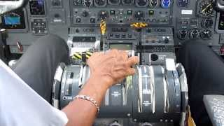 Dash 8 Takeoff Grenada(cockpit)