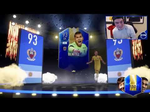 THE BEST OF 100 81+ LIGUE 1 PACKS! FIFA 19 Ultimate Team