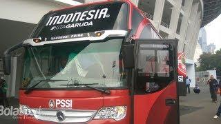 Jelang Asian Games, Timnas Indonesia Mempunyai Bus Baru