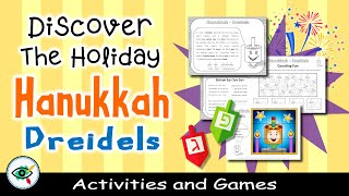 Great dreidels activity pack for grades 1 - 4