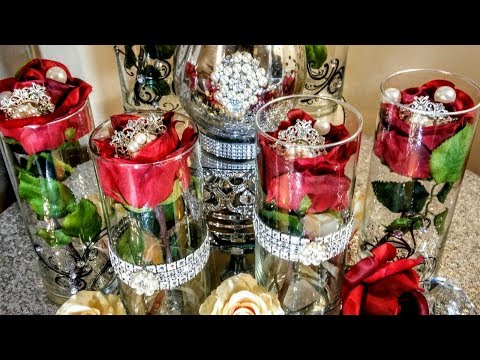 DIY Inexpensive Red Elegant Centerpieces| Collaboration 2018 Mp3