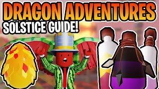 THE ULTIMATE SOLSTICE GUIDE IN ROBLOX DRAGON ADVENTURES!