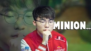 When Faker Got Outplayed By A Minion...   Funny LoL Series #145