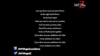 Ace Hood - Rider ft. Chris Brown (Lyrics On Screen)