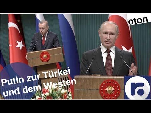 Putin zur Türkei und dem Westen auf deutsch [Video]