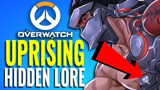 The Hidden Lore in the Uprising Comic [Overwatch Explained]