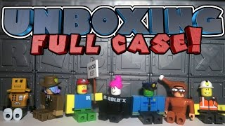 ROBLOX FULL CASE MYSTERY BOX UNBOXING! | Series 1 All Blind Boxes Opening