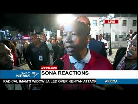 EFF welcomes #SONA2018 - Julius Malema