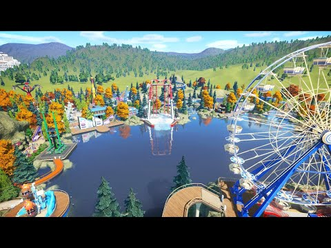 [LIVE🔴] BIGGEST & BEST PARK I EVER CONSTRUCTED | Planet Coaster Building Tycoon Gameplay