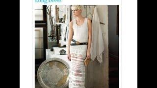 Kristins Vogue Crochet Long Dress Pattern PDF