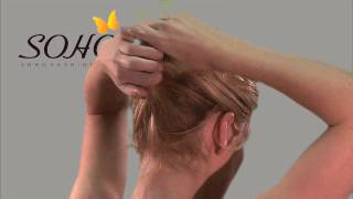 Soho - How To:  French Twist Hair Style