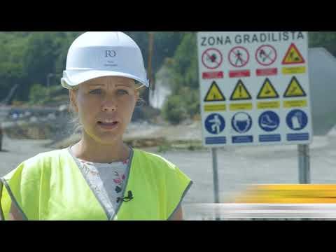 Pripremni radovi za izgradnju poddionice Poprikuše-Nemila