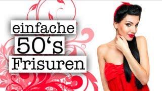 Hochtoupiert & Weggeföhnt - Pin Up Hair Updo by MiezeTv
