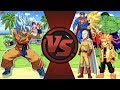 Goku vs The World! (Goku vs Saitama, Sonic, Hulk, Naruto & More) Dragon ...