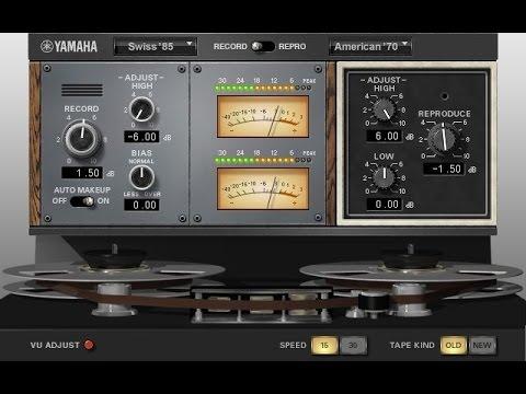 Tape Saturation - Yamaha Vintage OPEN DECK - VCM/VST3 - Salvador