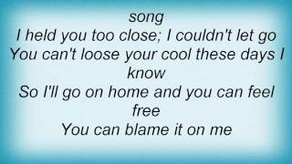 Aaron Watson - Blame It On Me Lyrics