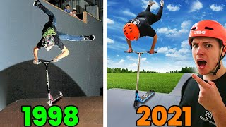 Wir Stellen ALTE Stunt Scooter Tricks Nach!