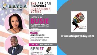 African Diasporan Grassroots Voting with Malik Lendzondzo