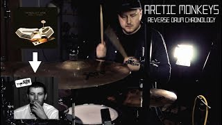 Arctic Monkeys - Reverse Drum Chronology - by Jamie Warren