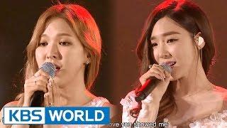 Tiffany & Wendy - Dear Mom [2015 KBS Song Festival / 2016.01.23]