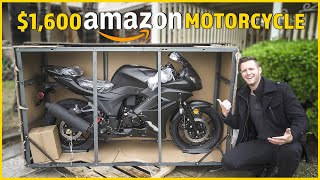 I BOUGHT the most AVERAGE-PRICED Motorcycle on AMAZON ($1,600 NEW)