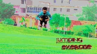 Jumping exercise tutorial__in Hindi