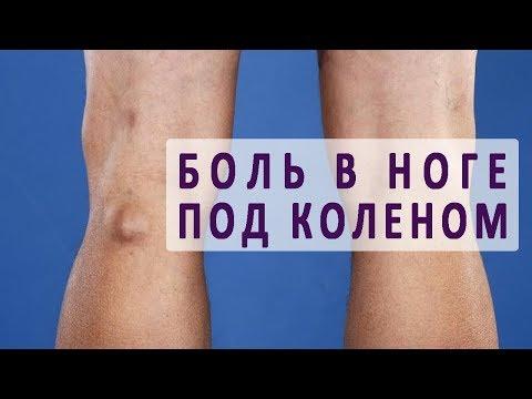 Из за чего может болеть нога под коленом?
