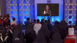 Daniella Mass - America Tiene Talento- 2015-  Don't Cry For Me Argentina