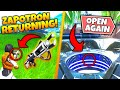 *NEW* ZAPOTRON RETURNING IN NEW VAULT EVENT?! Fortnite Season 9 Map Changes!