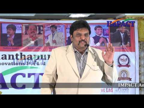 Career | Naresh Babu|TELUGU IMPACT Anantapur 2016