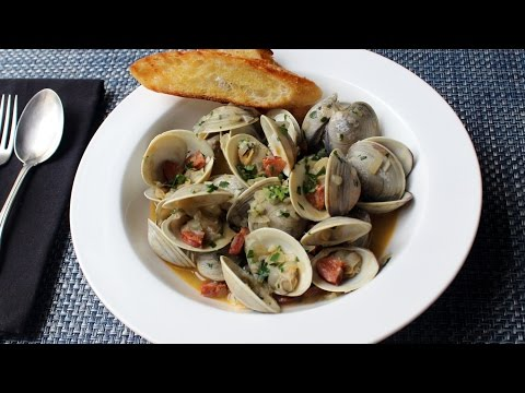Chorizo Steamed Clams Recipe – How to Make Spanish-Style Clams with Chorizo Sauasge