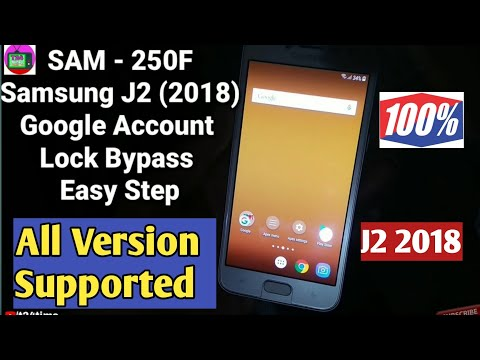 Remove FRP lock account Google Samsung galaxy J2 prime G532g