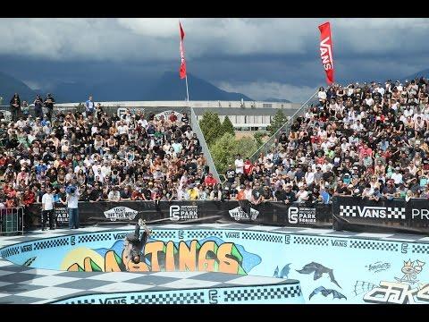 2016 Vans Pro Park Series: Vancouver- Ivan Federico 1st Place Run - 89.34