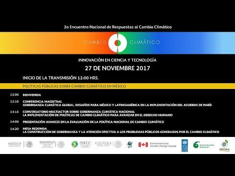 2ENRCC POLÍTICAS PÚBLICAS SOBRE CAMBIO CLIMÁTICO EN MÉXICO
