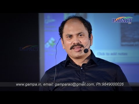 Non verbal communication | Ram Jaladurgam|TELUGU IMPACT Hyd 2014