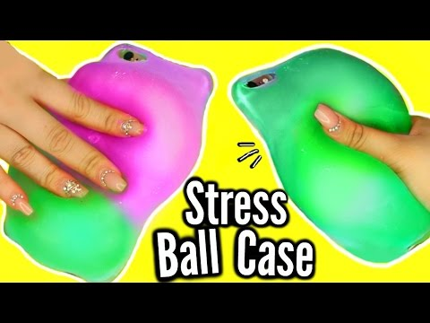 Download DIY Stress Ball Phone Case?! WEIRDEST DIY SLIME PHONE CASE! FAIL! HD Mp4 3GP Video and MP3