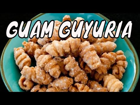 How to Make Guyuria – Guam's Coconut Cookie Part 1