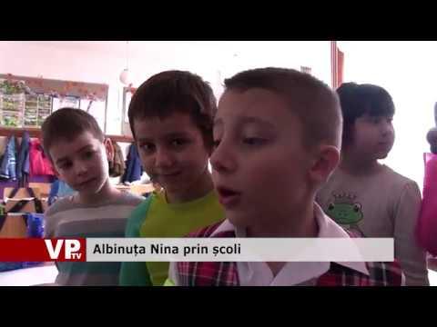 Albinuța Nina prin școli