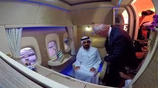 HH Sheikh Mohammed bin Rashid Al Maktoum visits New Emirates First Class Private Suite
