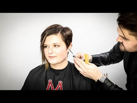 Asymmetrical Pixie Haircut Tutorial | Matt Beck Vlog S2 E13