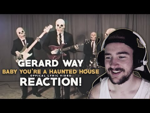 Gerard Way Baby Youre A Haunted House Reaction