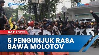 150 Orang Ditangkap karena Buat Ricuh Demo PPKM Kota Bandung, 5 di Antaranya Bawa Bom Molotov