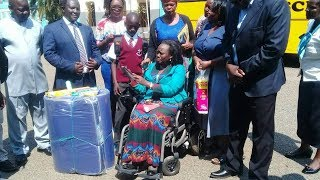 Nominated MP Ghati comes to the aid of Otieno, who reported to school with only two bars of soaps